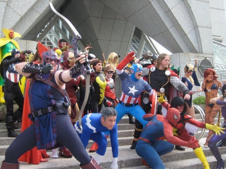 Marvel cosplay costumes