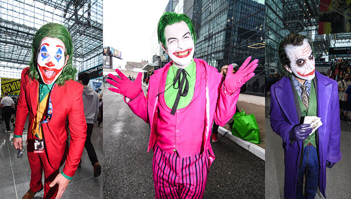 joker coplay costumes for Halloween